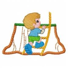 Boy Treehouse