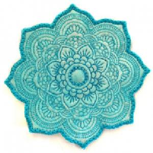 Large Mandala Topper