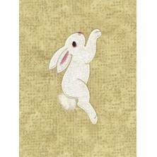 Bunny Garden Applique