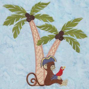 Little Monkey Pirate Pals