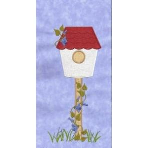 Birdhouse Row for Large Hoops