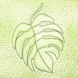 Leaves Quilt Blocks