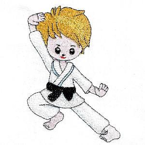 Karate Kidz Set