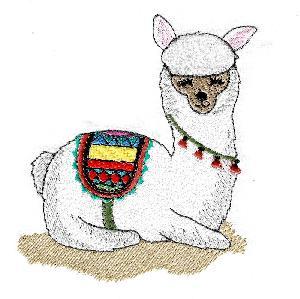 Fancy Lamas Set