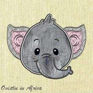 Applique Baby Elephants