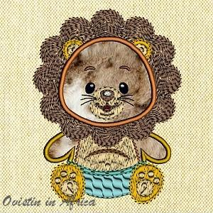 Applique Baby Lion