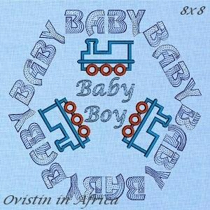 Baby Boy Quilt Block Set 2