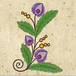 Exotic Flowers 6x6