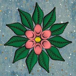 Exotic Flowers 4x4