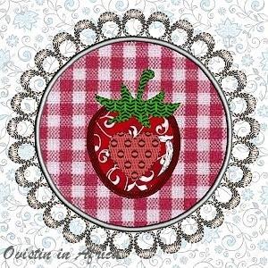 FSL App. Strawberry Coasters