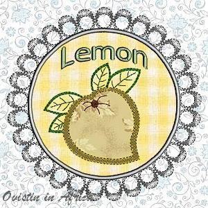 FSL Applique Lemon Coasters