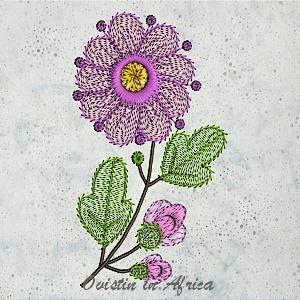 Funky Flowers 5x5