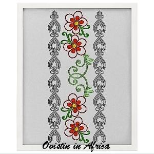 Endless Lace Borders 6x10