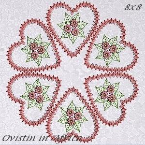 Heirloom Quilt Blocks 8x8