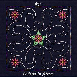 Trapunto Quilt Blocks and Pillows 6x6