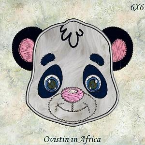 Applique Animal Faces Set 2