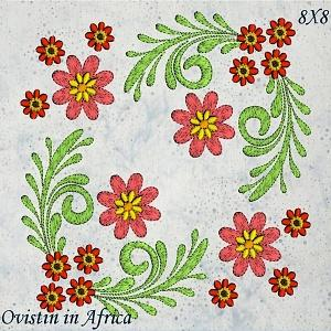 Floral Quilt Set 3