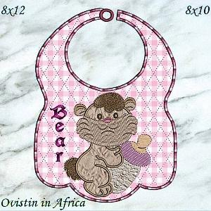 Bottle Babies Bibs Large and Small