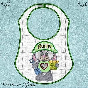 Bunny Bibs Large and Small