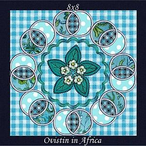 Applique Circle Quilt Blocks -14