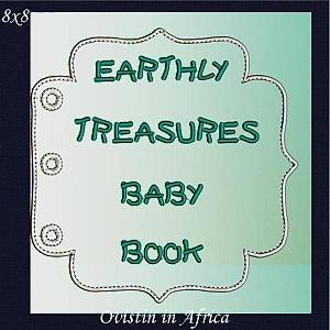Earthly Treasures Baby Book 8x8