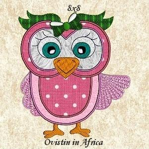 Sassy Owls 8x8