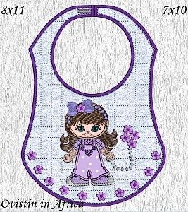 Bettys Dolly Bibs 4 Girls