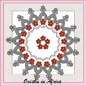 Lace Quilt Blocks 8x8