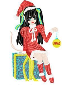 Japanese Christmas Anime Girls
