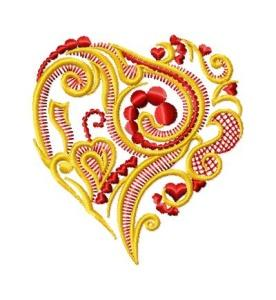 Ornamental Hearts