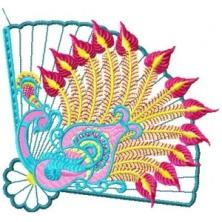 Oriental Fans Applique