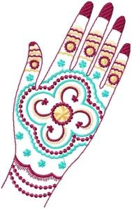 Henna Painted Hands