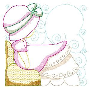 Baby Sunbonnet Girls