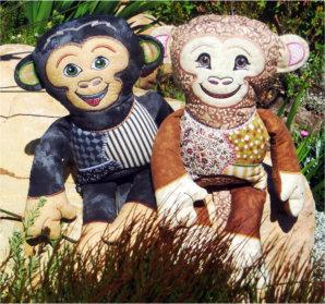 Monkey Shelf Sitters