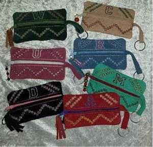 Leather Keyring Pouches