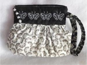 Pleated Zipper Pouches