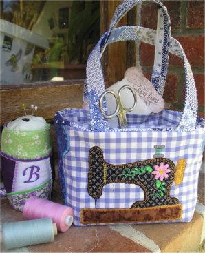Patchwork Sewig Basket