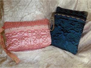 ITH Satin Pouch Duo