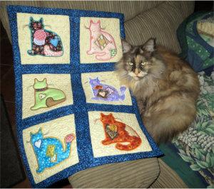 ITH Quilt Blocks Alley Cats