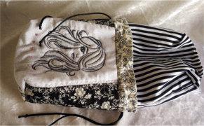 ITH Draw String Bags Pretty Lady