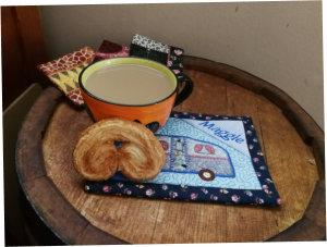 ITH Mug Rug For Campers