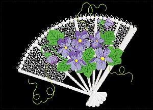 5x7 Violets 2-4