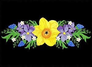 5x7 Violets 2-5