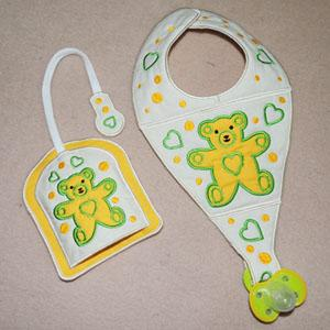 Bear Bib and Holder