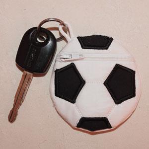 Soccer Ball Case and Key Holder