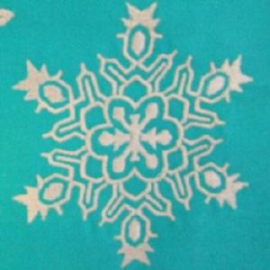 Snowflakes w/FREE Table Runner Project