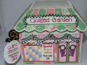 Quilted Garden Christmas Village