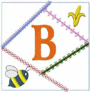 ABC Crazy Quilt Blocks