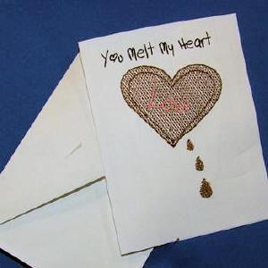 Valentine Cards Print N Stitch