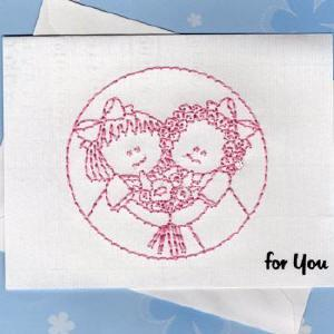 Other Holidays Greeting Cards Print N Stitch